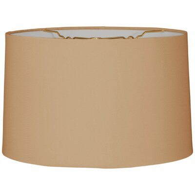 Timeless 18 Linen Drum Lamp Shade Color: Antique Gold