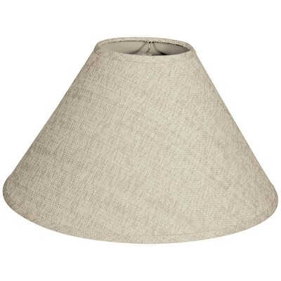 Timeless Coolie 16 Linen Empire Lamp Shade Color: Linen Cream