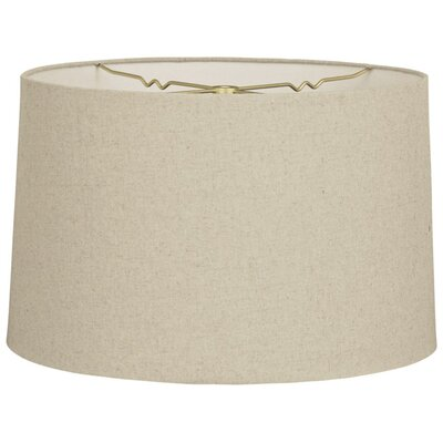 Timeless 14 Shantung Drum Lamp Shade Color: Linen Cream