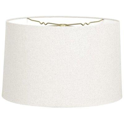 Timeless 18 Linen Drum Lamp Shade Color: Linen White