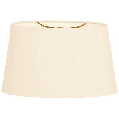 Timeless 12 Shantung Empire Lamp Shade Color: Eggshell