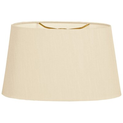 Timeless 14 Shantung Empire Lamp Shade Color: Beige