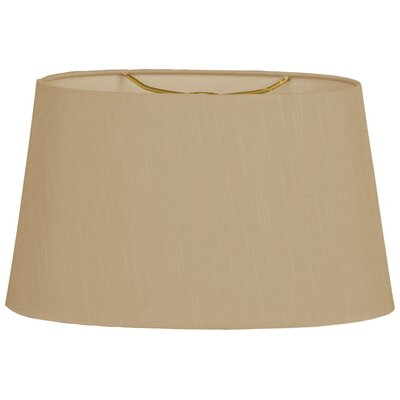 Timeless 18 Shantung Empire Lamp Shade Color: Antique Gold