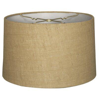 18 Shantung Drum Lamp Shade Color: Burlap