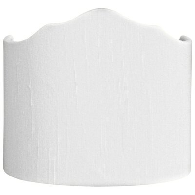 Timeless 8 Shantung Novelty Lamp Shade Color: White