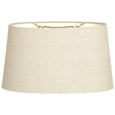 Timeless 18 Shantung Empire Lamp Shade Color: Linen Beige