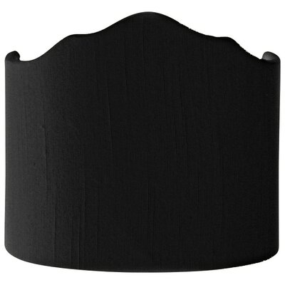 Timeless 8 Shantung Novelty Lamp Shade Color: Black