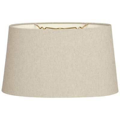 Timeless 10 Shantung Empire Lamp Shade Color: Linen Cream
