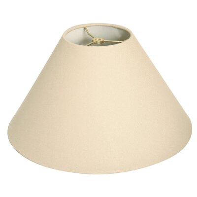 Timeless Coolie 14 Linen Empire Lamp Shade Color: Linen Beige