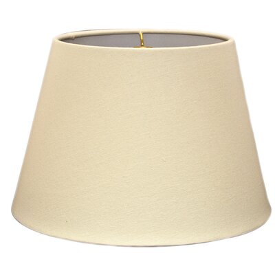 Timeless Tapered 18 Linen Empire Lamp Shade Color: Linen Eggshell