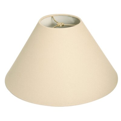 Timeless Coolie 18 Linen Empire Lamp Shade Color: Linen Beige