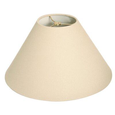 Timeless Coolie 16 Linen Empire Lamp Shade Color: Linen Beige
