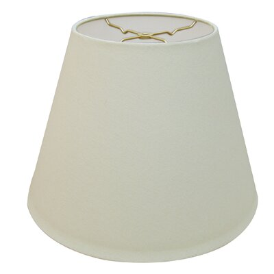 Timeless Deep 14 Linen Empire Lamp Shade Color: Linen Eggshell