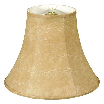Timeless True 7 Faux Leather Bell Candelabra Shade