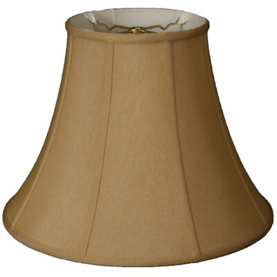 Timeless 12 Silk Bell Lamp Shade Color: Antique Gold
