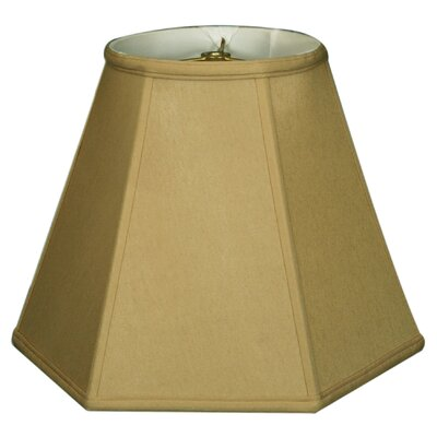 Timeless 16 Silk Empire Lamp Shade Color: Antique Gold/Off White