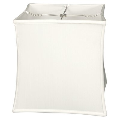 Timeless 11 Silk Novelty Lamp Shade Color: White/Off White