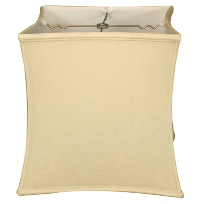 Timeless 13 Linen Novelty Lamp Shade Color: Cream