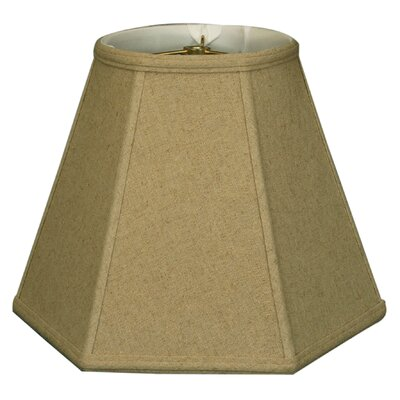 Timeless Hexagon 12 Linen Empire Lamp Shade Color: Cream