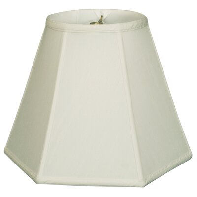 Timeless 12 Silk Empire Lamp Shade Color: White/Off White