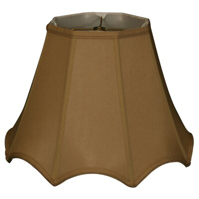 Timeless 14 Silk Empire Lamp Shade Color: Antique Gold/Off White
