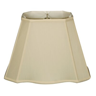 Timeless 10 Silk Empire Lamp Shade Color: Eggshell/Off White