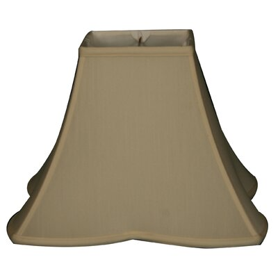 Timeless 14 Silk Bell Lamp Shade Color: Eggshell/Off White