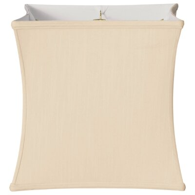Timeless 11 Silk Novelty Lamp Shade Color: Eggshell/Off White