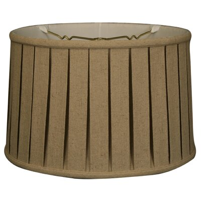 Timeless 14 Linen Drum Lamp Shade Color: Beige