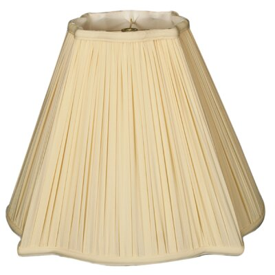 Timeless 12 Silk Empire Lamp Shade Color: Beige