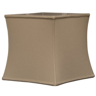 Timeless 15 Linen Square Lamp Shade Color: Linen Beige