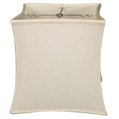Timeless 13 Linen Novelty Lamp Shade Color: Linen White