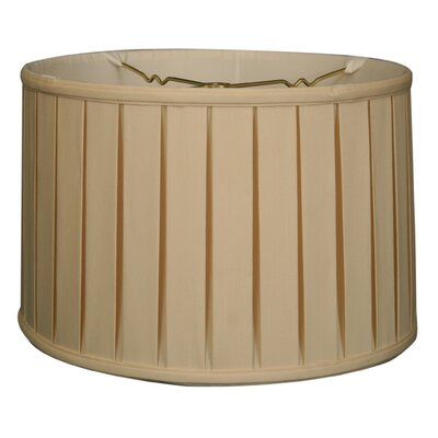 Timeless 16 Silk Drum Lamp Shade Color: Eggshell/Off White