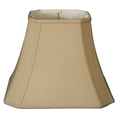 Timeless 12 Linen Bell Lamp Shade Color: Beige