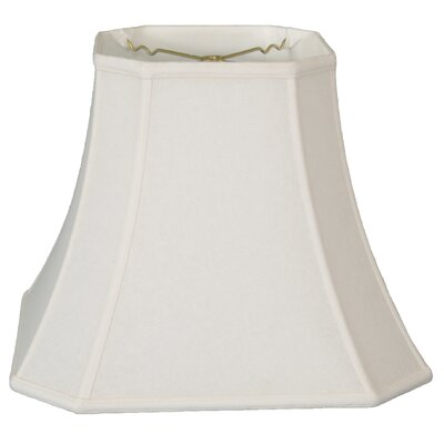 Timeless 14 Linen Bell Lamp Shade Color: White