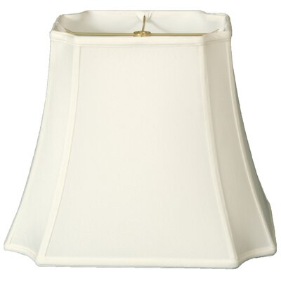 Timeless 17 Silk Bell Lamp Shade Color: White/Off White