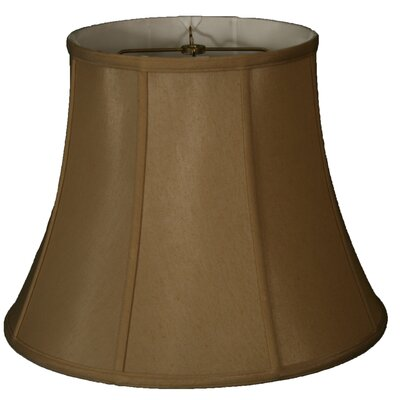 Timeless 17 Silk Bell Lamp Shade Color: Antique Gold/Off White