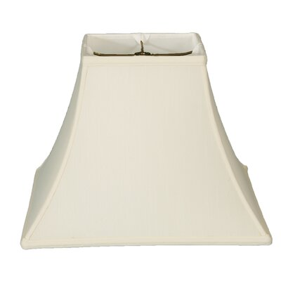 Timeless 14 Silk Bell Lamp Shade Color: White/Off White