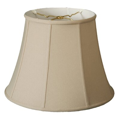 Timeless 15 Linen Bell Lamp Shade Color: Beige/Off White