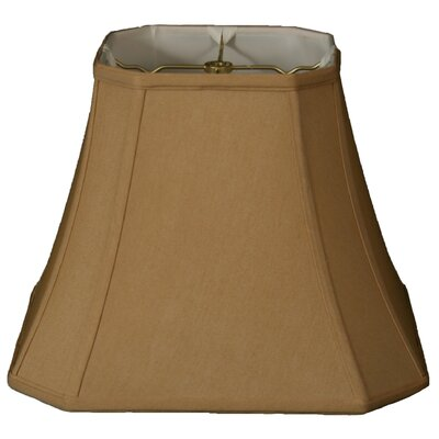 Timeless 14 Silk Bell Lamp Shade Color: Antique Gold