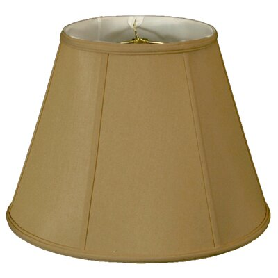 Timeless 20 Silk Empire Lamp Shade Color: Antique Gold/Off White
