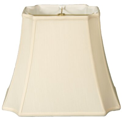 Timeless 13 Silk Bell Lamp Shade Color: Eggshell/Off White