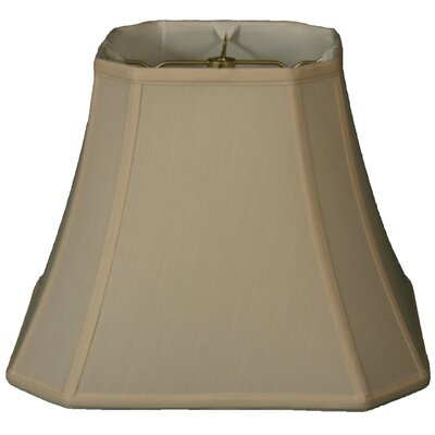 Timeless 10 Silk Bell Lamp Shade Color: Beige/Gold