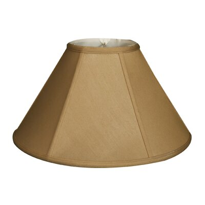 Timeless 18 Silk Empire Lamp Shade Color: Antique Gold/Off White