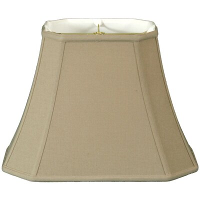 Timeless 14 Linen Bell Lamp Shade Color: Beige