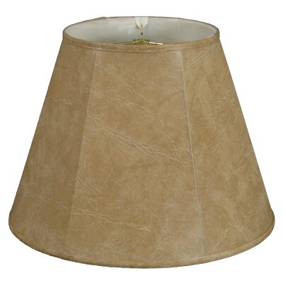Timeless 14 Faux Leather Empire Lamp Shade