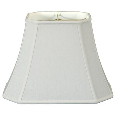 Timeless 16 Linen Bell Lamp Shade Color: White