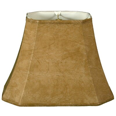 Timeless 16 Faux Leather Bell Lamp Shade