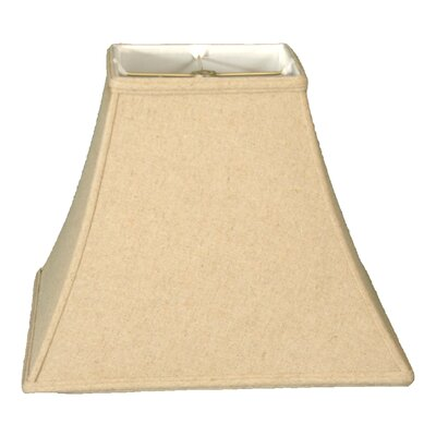 Timeless 14 Linen Bell Lamp Shade Color: Linen Cream