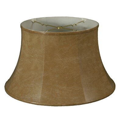 Timeless 19 Faux Leather Bell Lamp Shade